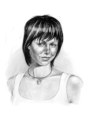 Portrait d'une jeune fille ukrainienne