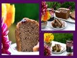 Cake con Mermelada de Moras y Canela