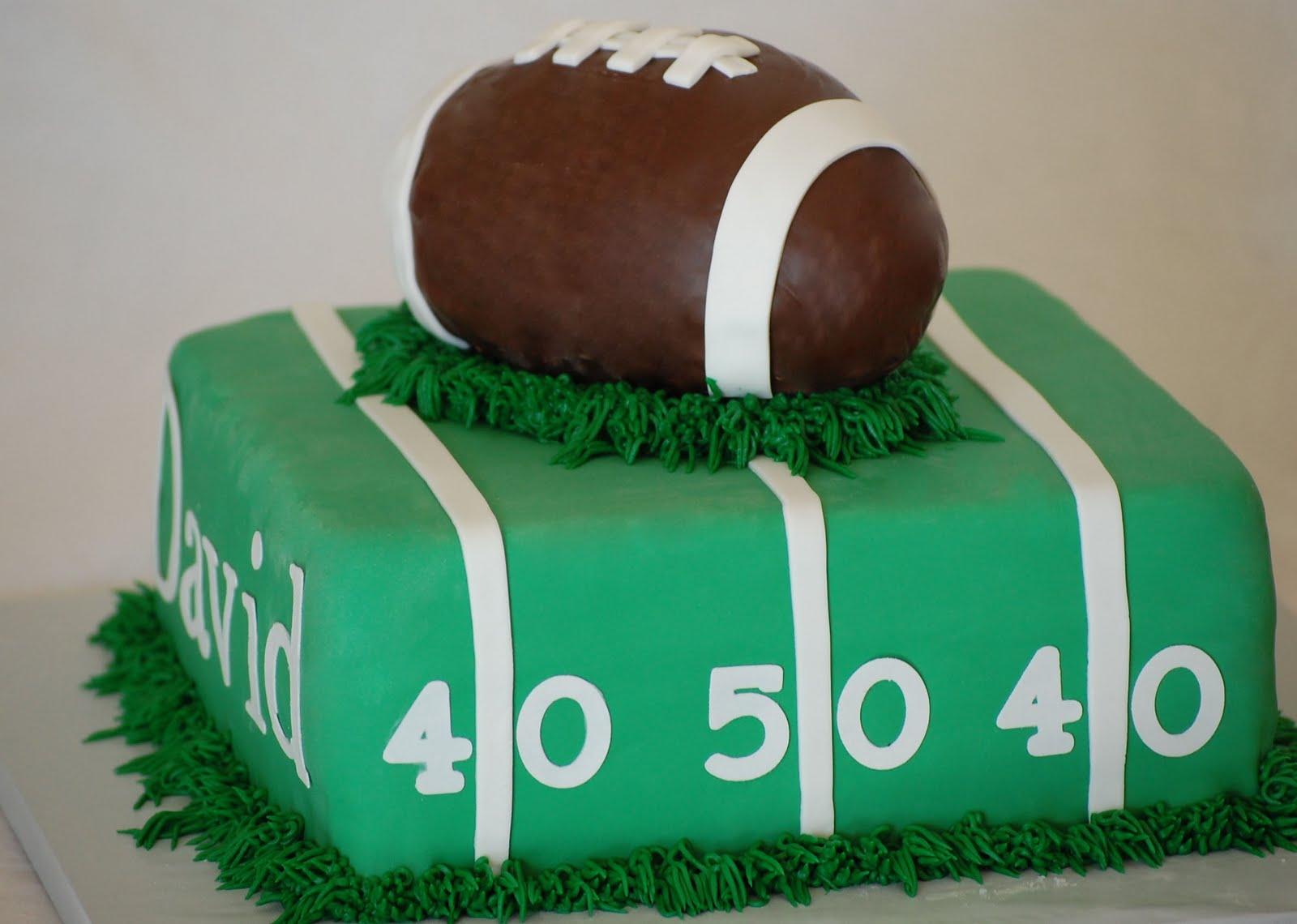 Cakefilley Davids Football Cake
