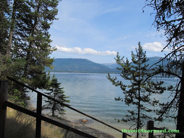 Outlet Campgrounds At Priest Lake, Idaho: Stairs To Beach