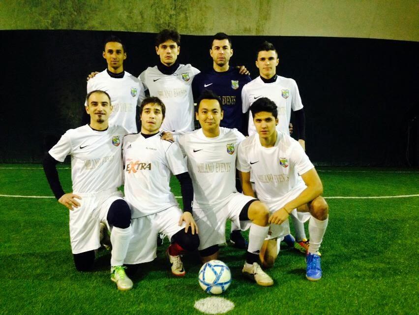Foto prima della partita Brasitalianos-Birreria dell'Ombra