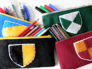 5. I finished all the Hogwartsinspired pencil cases!