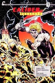 Caliber Presents #1 comic cover
