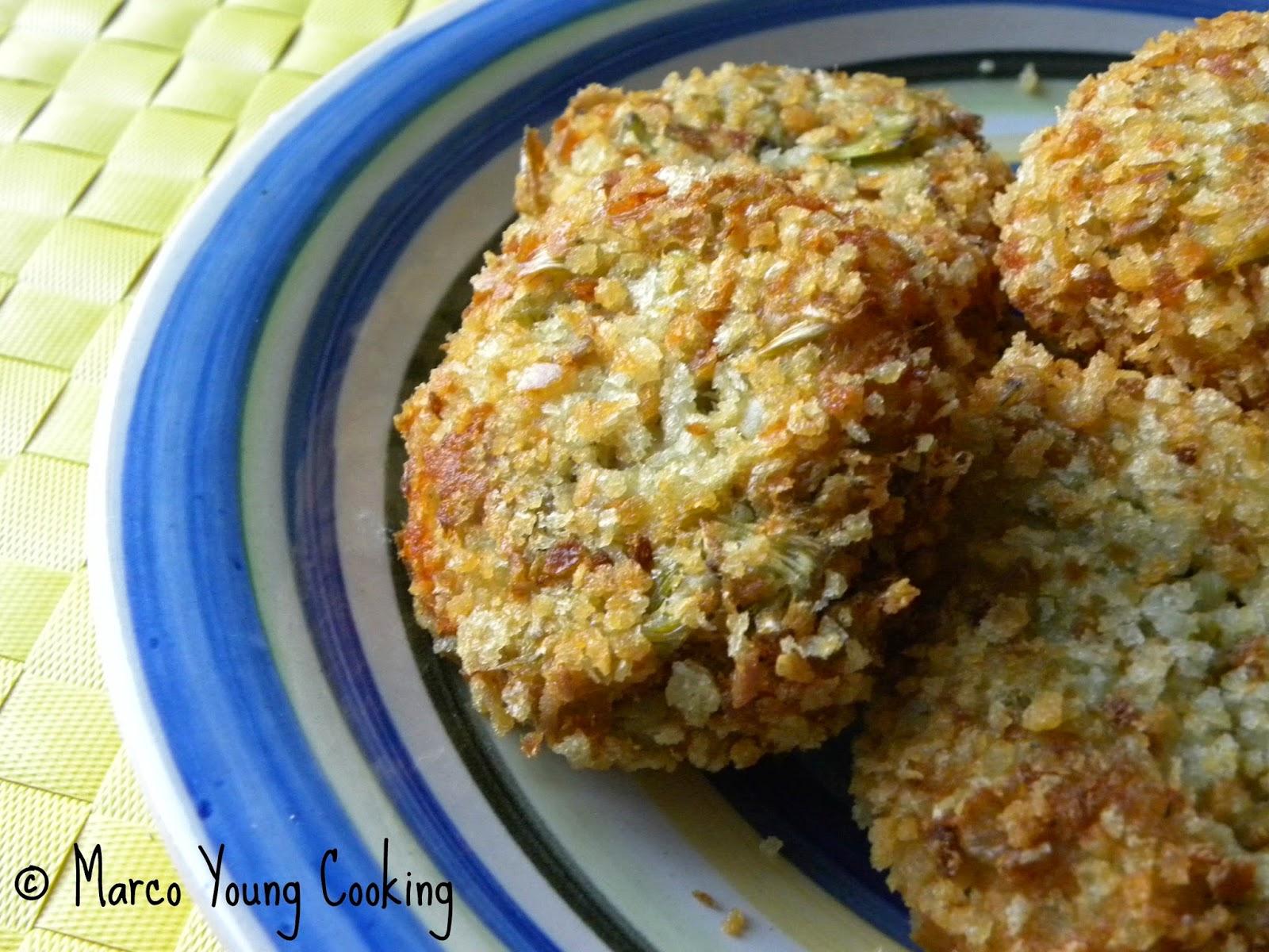 ricetta polpettine di merluzzo e carciofi