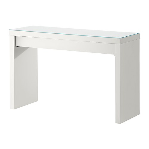The cuban in my coffee diy console table parsons style for Ikea malm console table