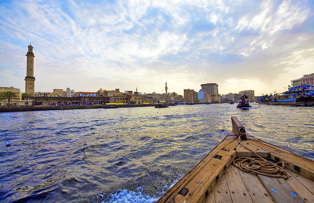 Dubai Creek Dhow Ride