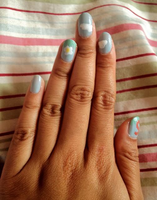 Barry m nail paint, barry m, nail art, nail design, nail polish, nail varnish, blue moon barry m, e.l.f. polish, e.l.f., eyes lips face nail varnish, eyes lips face, nail art pen, philippines, nail art brush,