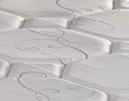 Detalle de la tela del nuevo colchón Sema Ambres