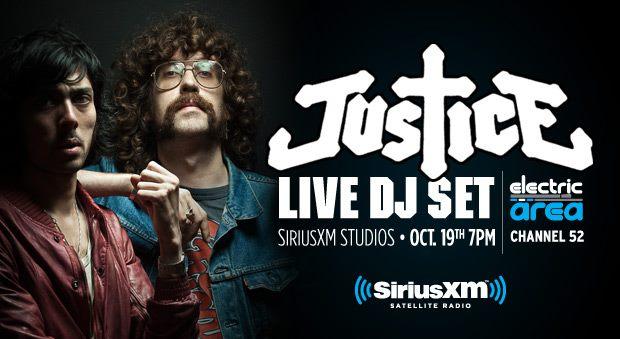Justice Live Set Justice Live dj Set Sirius
