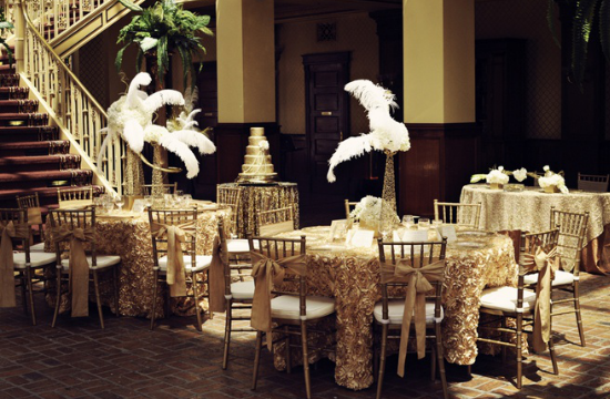 "matrimonio a tema ""Il Grande Gatsby"", wedding decor"