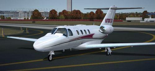 Flight Simulator News Brief Eaglesoft Cessna Citation Cj1