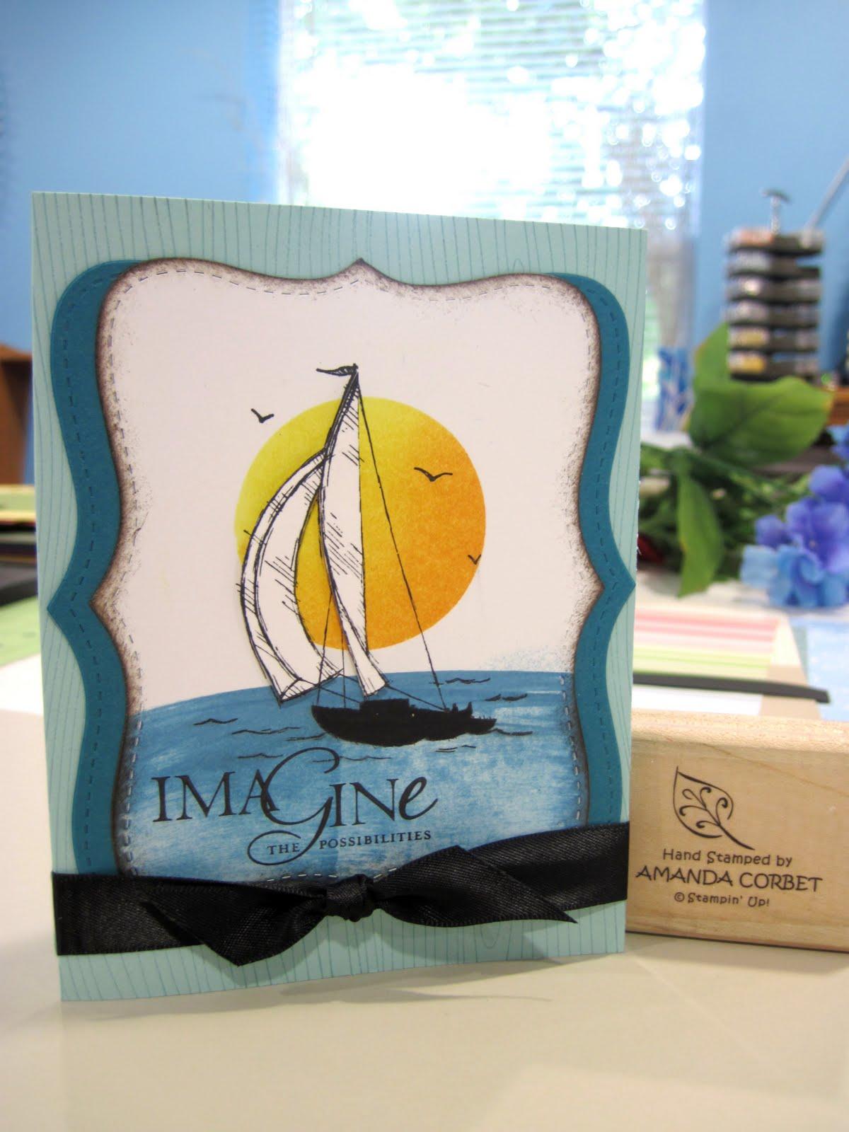 Imagine Sailing Away