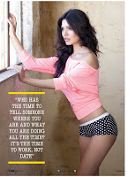 Sara Loren (Mona Lisa) Hot FHM Cover Girl March 2013