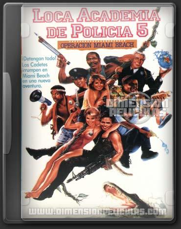 Locademia de Policía 5: Operación Miami Beach (DVDRip Español Latino)