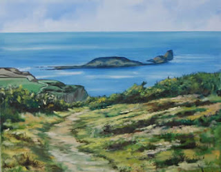 A Journey to Worms Head by Carole Anderson