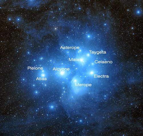 Las Pléyades o M45