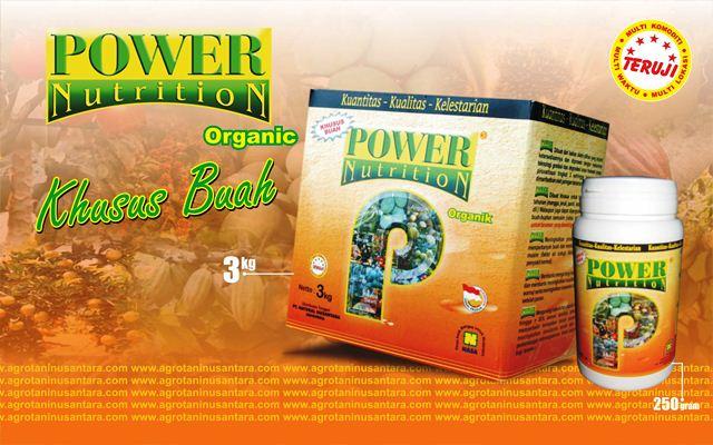 POWER Nutrition Pupuk Organik Khusus Tanaman Buah dari PT. NASA | www.agrotaninusantara.com