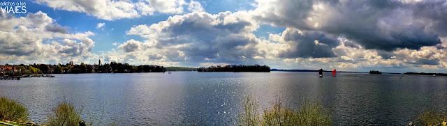 panoramica del lago de Plon