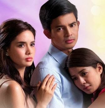 Erich Gonzales, Jason Abalos and Kaye Abad in Two Wives