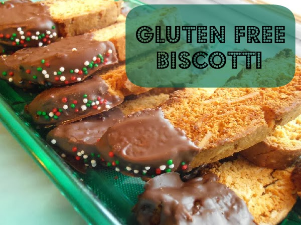Chocolate Dipped Biscotti {Baking Gluten Free with Pamela's} | Maple ...