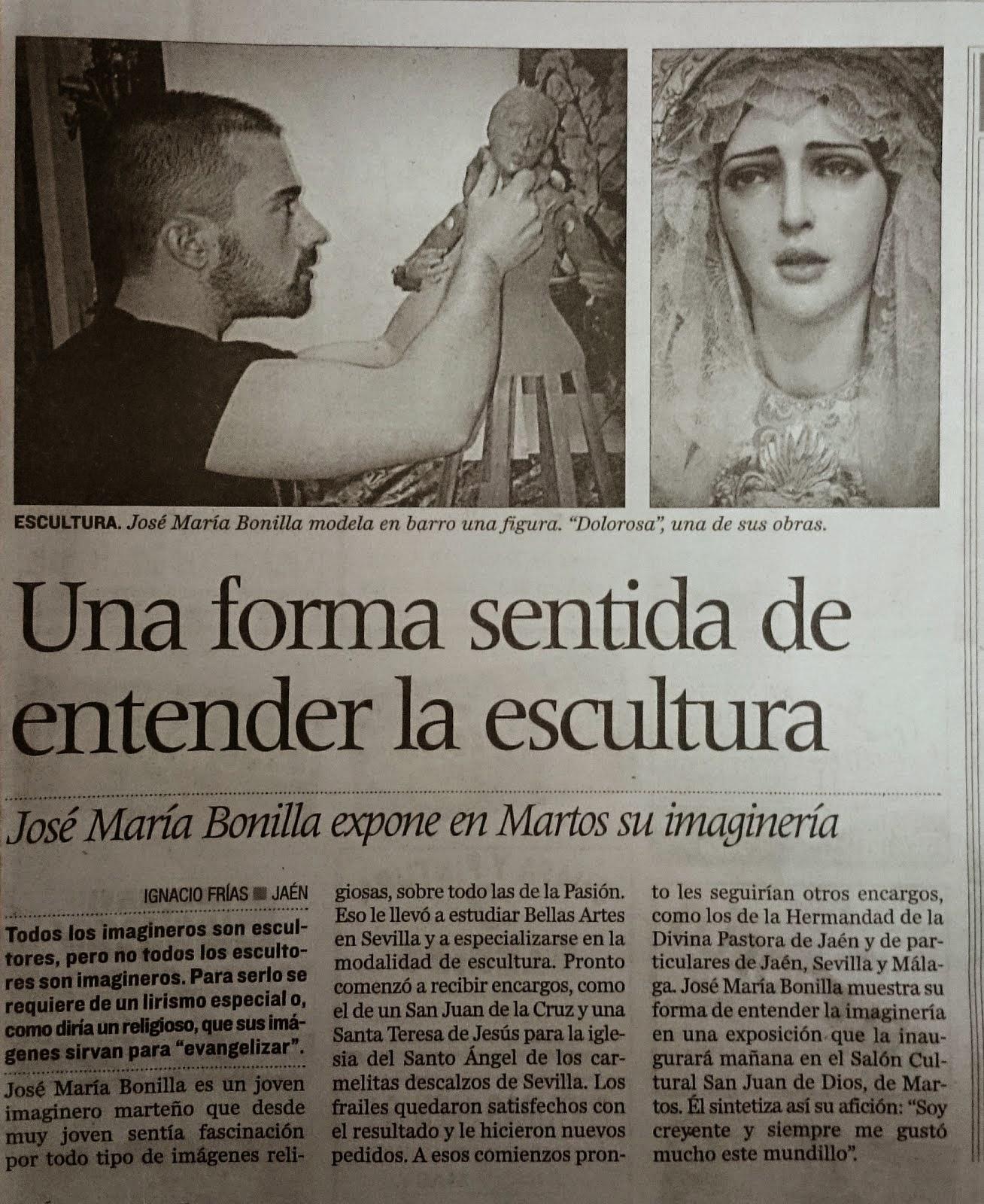 Publicación Diario Jaén.