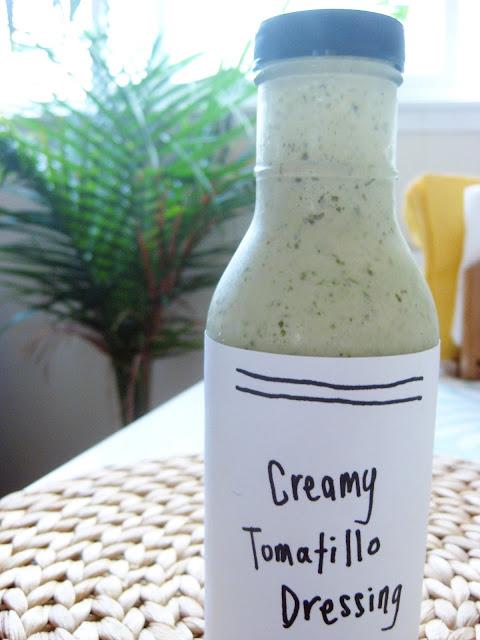 FEST: Creamy Tomatillo Dressing (Cafe Rio Style)