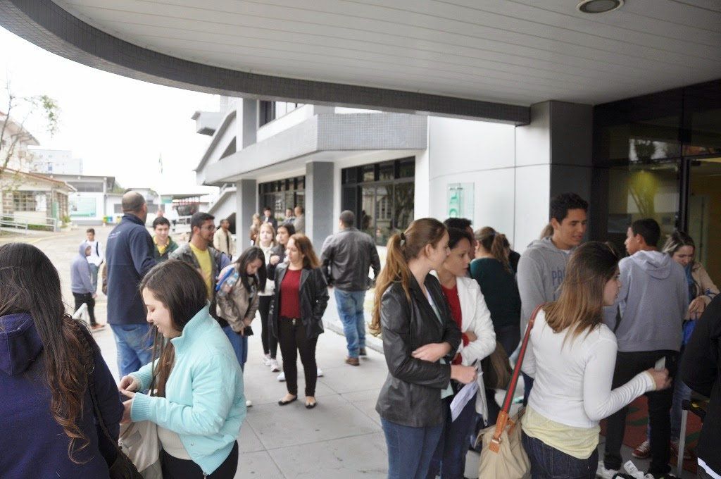 O Vestibular de Inverno para o curso de Medicina do UNIFESO atraiu cerca de 1500 candidatos do país inteiro