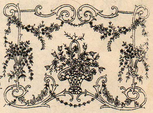 Ribbon Work Designs http://leapingfrogdesigns.blogspot.com/2012/11/more-vintage-frames-for-embroidery-and.html