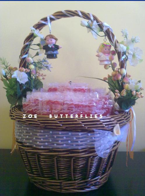 Como decorar canastas para bodas imagui - Como decorar una cesta de mimbre ...