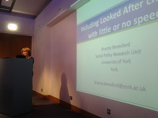 Bryony Beresford talking