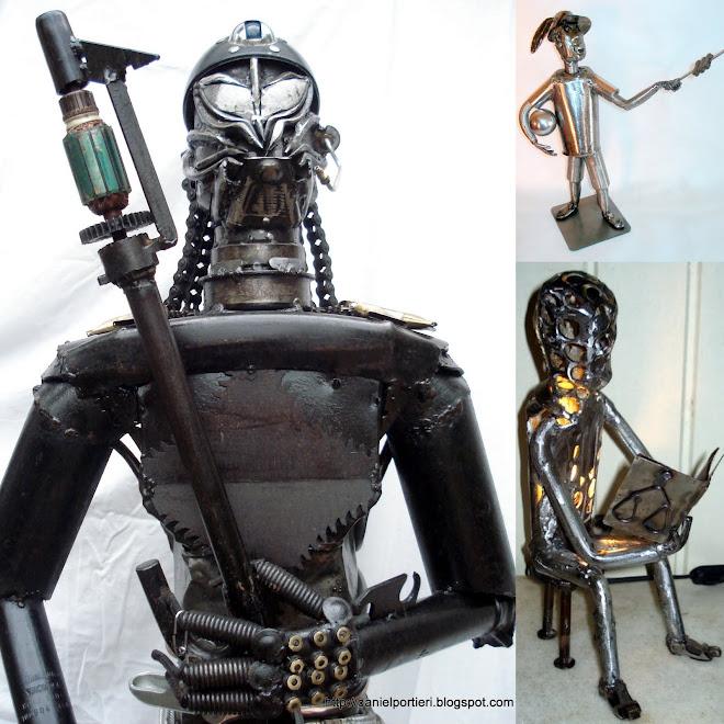Escultura: figuras humanas