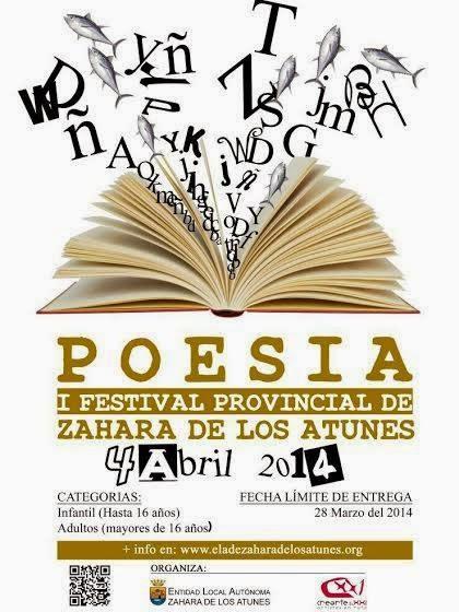 POESÍA: 1º Festival provincial, Zahara de los Atunes