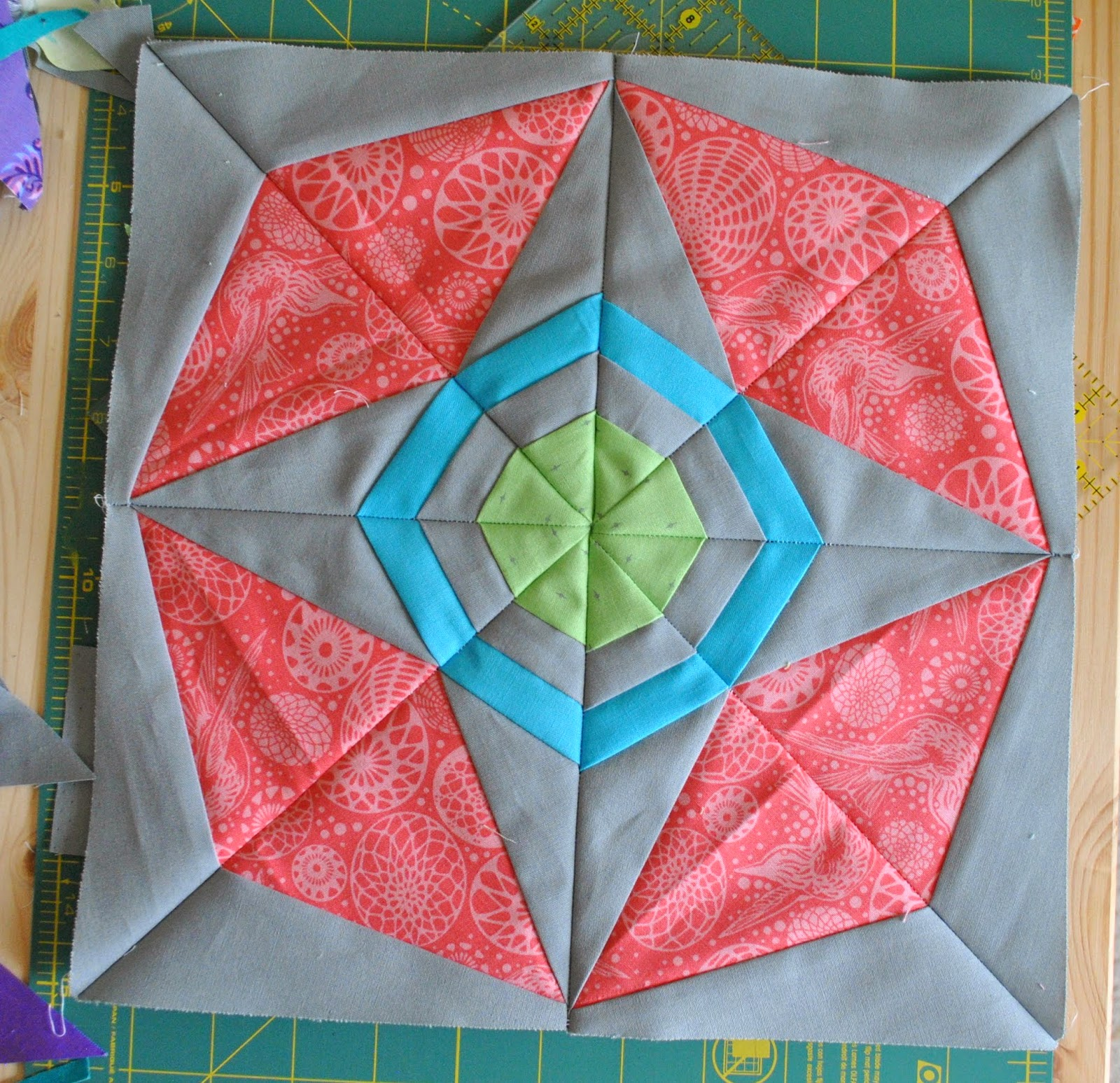 wombat quilts atomic star tula pink