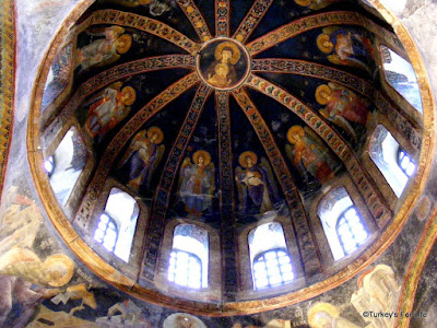 Painted Dome In Kariye Müze