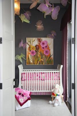dormitorio bebé en gris