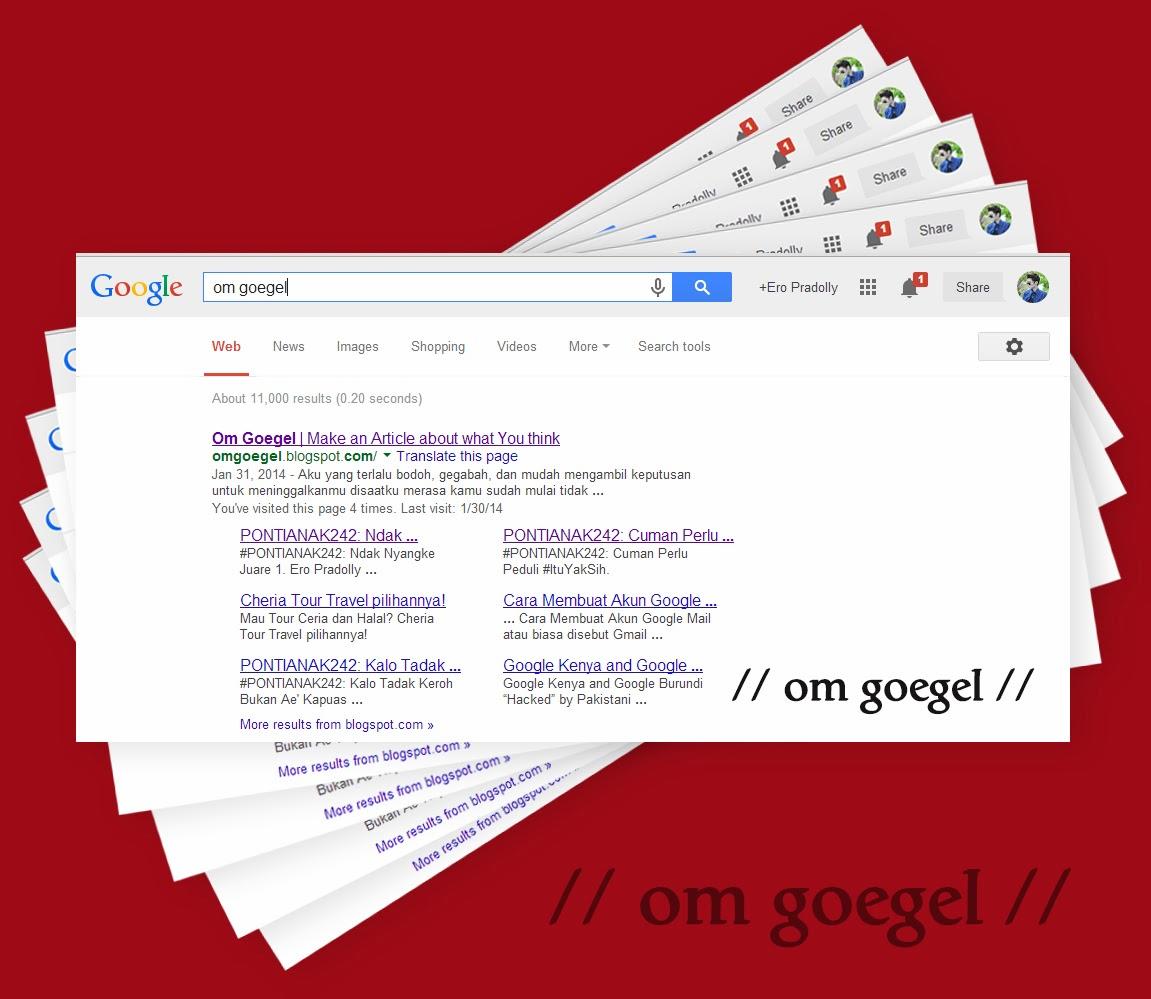 Browsing Om Google secara Efektif