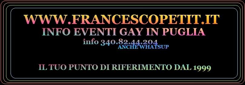 PARTY GAY ALTRE CITTA PUGLIESI