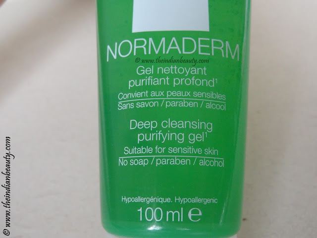 vichy normaderm gel face wash reviews