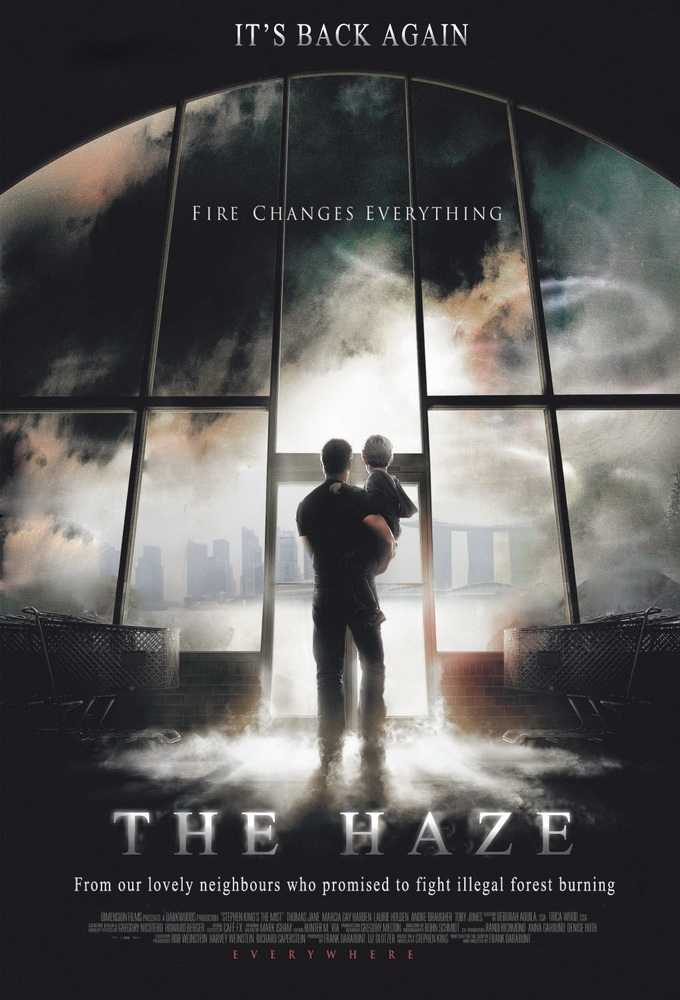 New movie: The HazeNow showing already. Look out of your window for part 16 in HD and 3D.