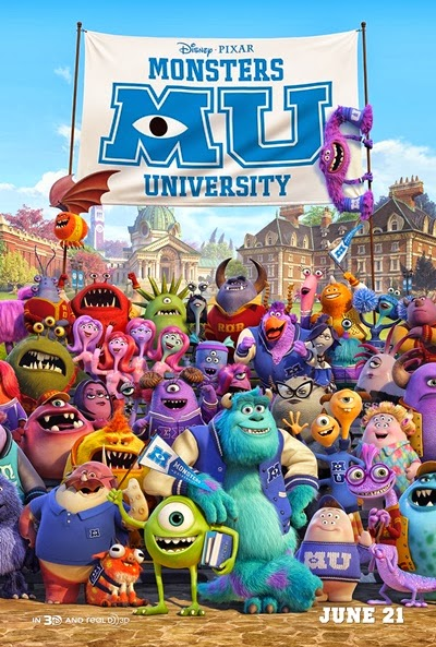Monsters University DVDRip Latino
