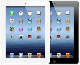 The new iPad tablet from Apple