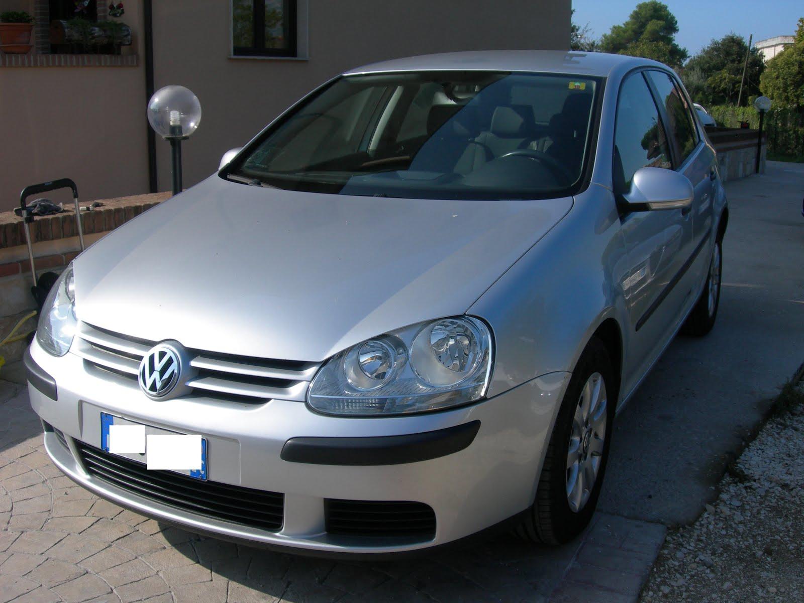VW GOLF 5 1.9 TDI 105 CV HIGHLINE ANNO 2005 PREZZO 6.000,00 EURO