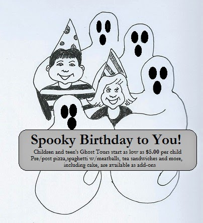 Spark a Kid's Birthday with Ghosts