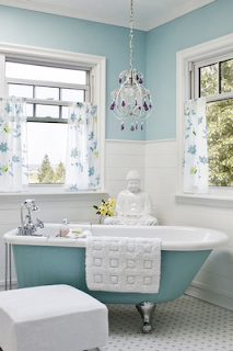Im loving rachael ray incorporating buddha in design for In design bathrooms