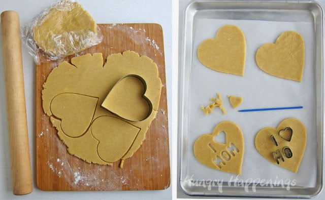 Linzer Cookie Hearts
