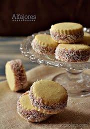 Alfajores Biscotti con crema mou e Cocco