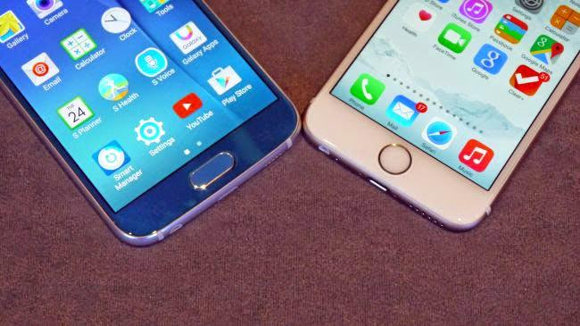 iPhone 6 vs Galaxy s6 Housing