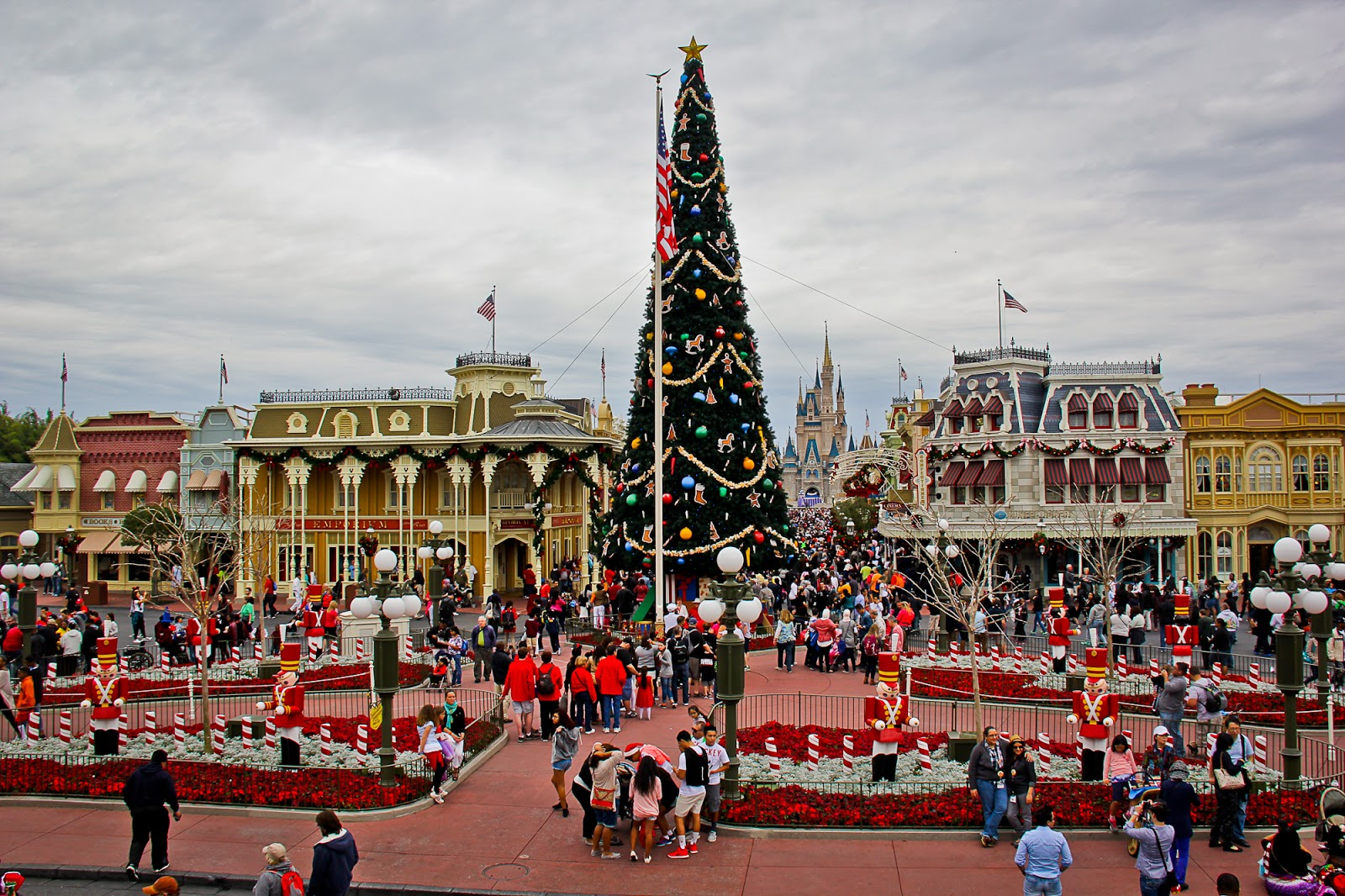 and i am glad that we decided to do this because disney at christmastime truly iswell magical