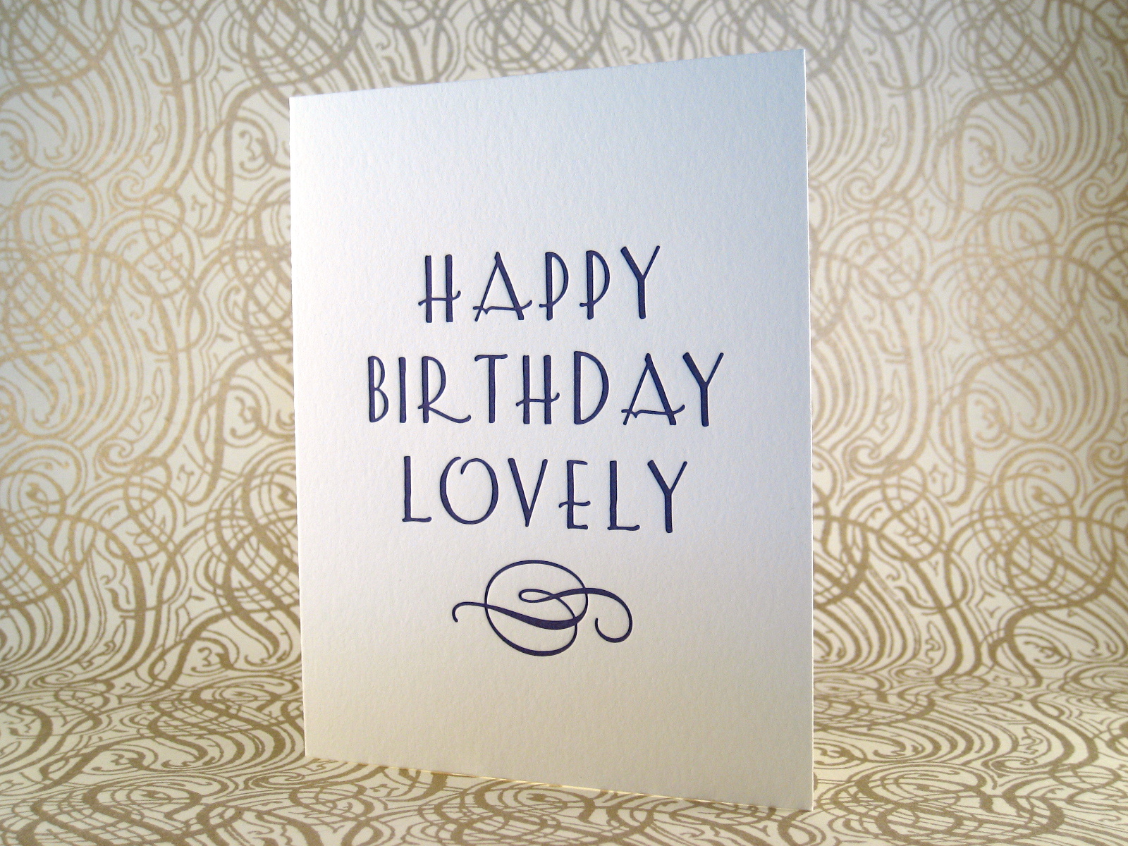 letterpress birthday austin inviting lovely card