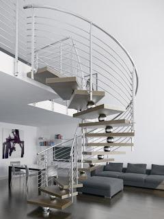 escalera contemporanea